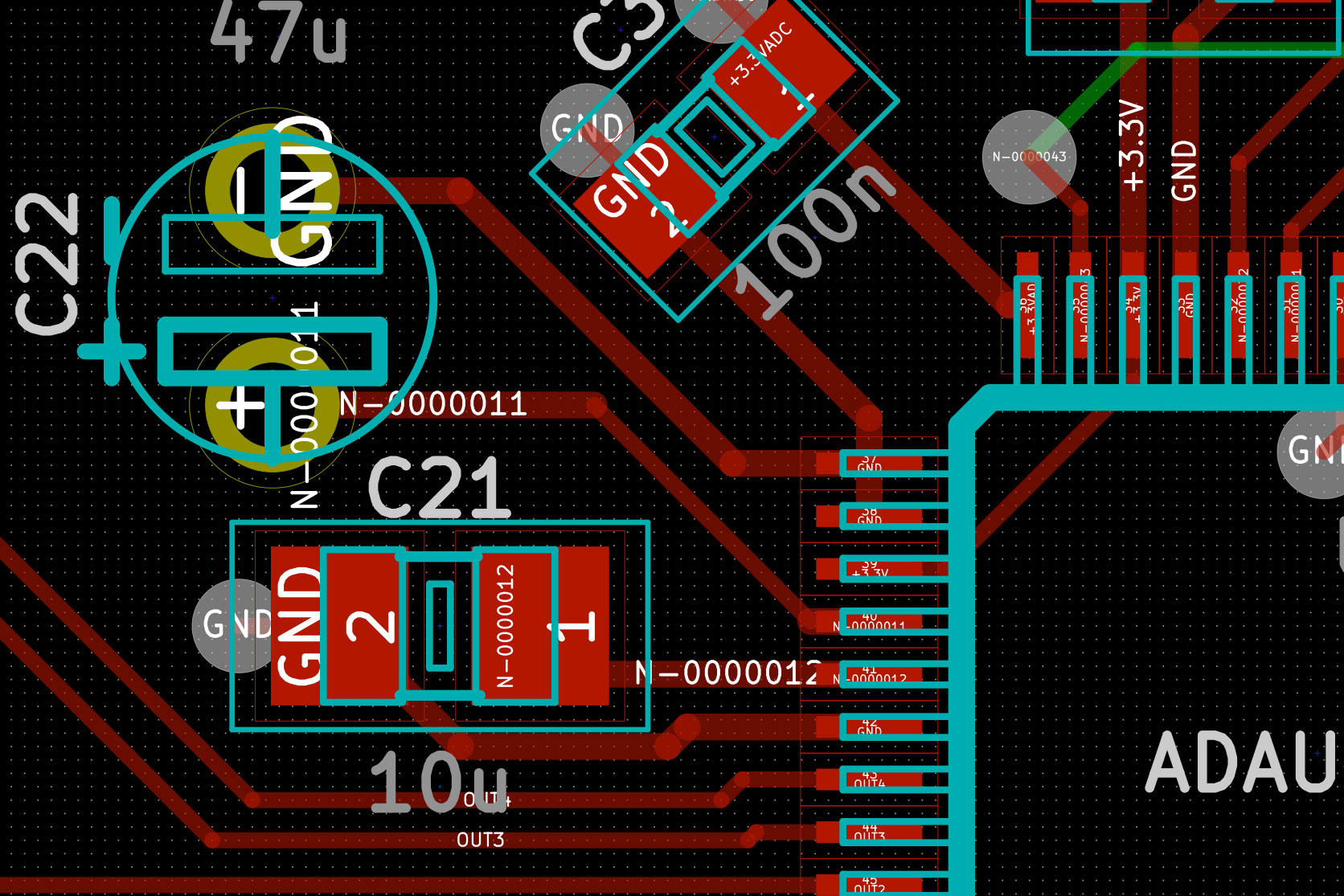 Digital Volume Control Circuit Raspberry Ask Answer Wiring Diagram Simple Thermal Relief Zones With Kicad Crazy Audio